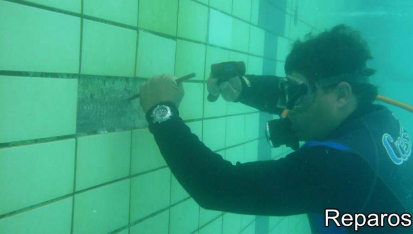 Reparos Subaquáticos piscinas