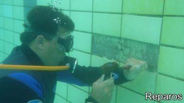 reparos subaquáticos
